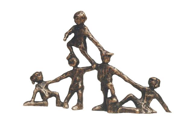 Beelden In Brons.Bronzen Beeldjes