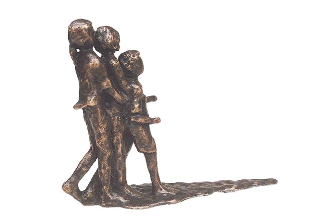 Kleine Bronzen Beeldjes.Bronzen Beeldjes Huwelijk