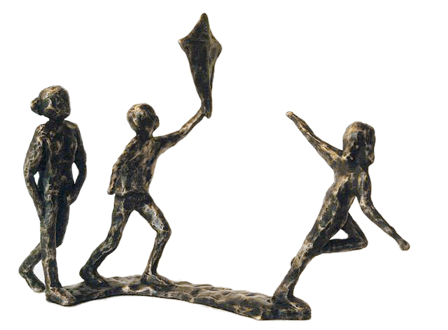 Beelden In Brons.Bronzen Beeldjes Huwelijk